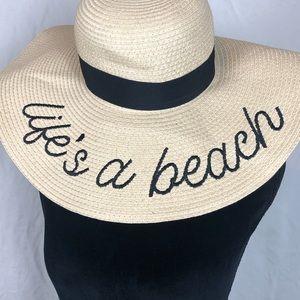 Life's a Beach Straw Hat